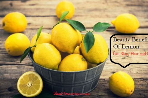 Benefits of Lemon For Skin, Hair and health