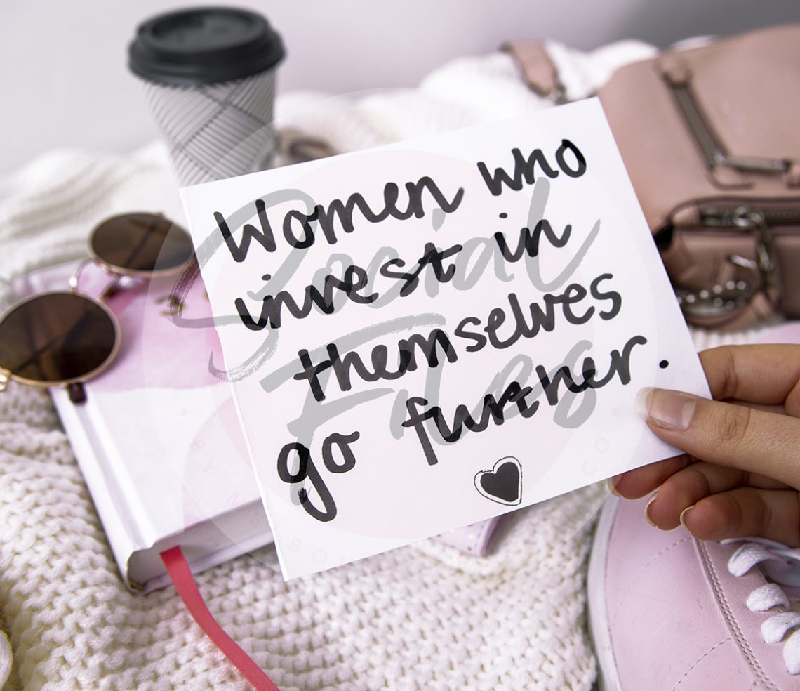 women who invest in themselves