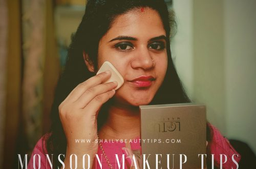 Monsoon Makeup Tips