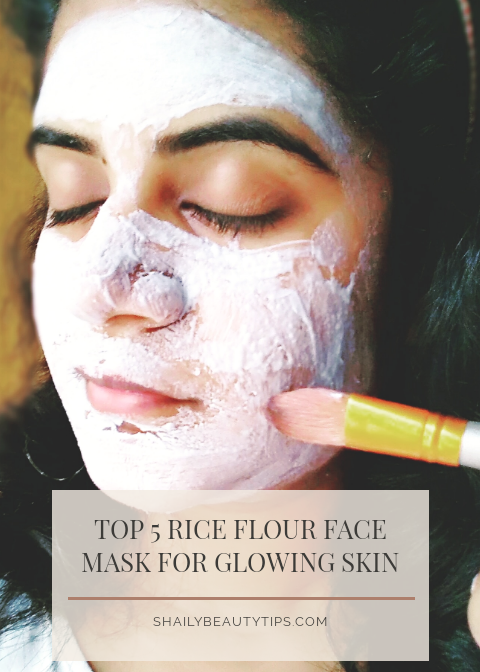 Rice Flour Face Mask for Glowing Skin