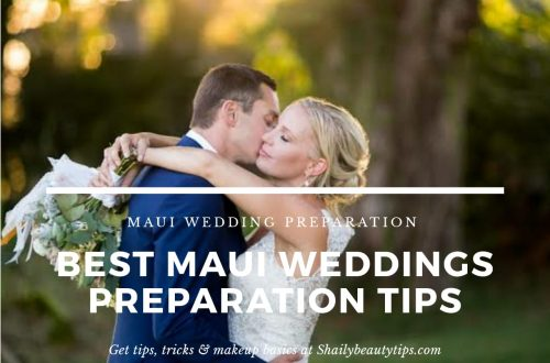 Best Maui Wedding Preparation Tips