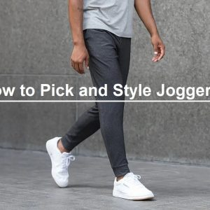How to Pick and Style Joggers
