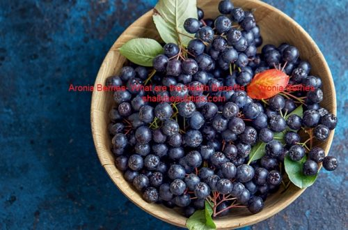 Aronia Berries- What are the Health Benefits of Aronia Berries